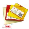 25mm Transparent Yellow pu polyurethane sheet