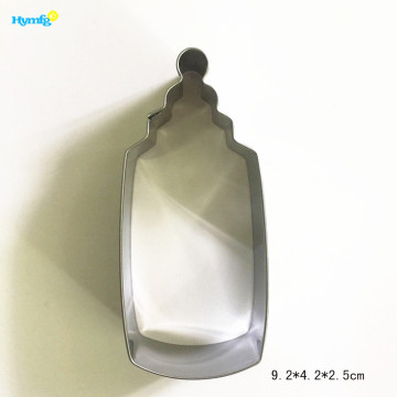 Custom Metal Baby Feeding Bottle Cookie Cutter