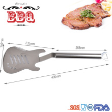Guitar shape high quality stainless steel spatula