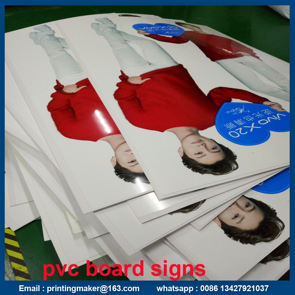 Printing On White Pvc Board