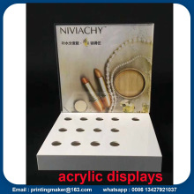 Acrylic Display Stand with UV Printing Graphic