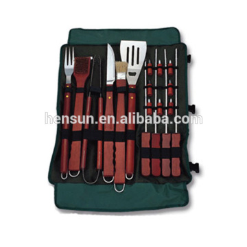 BBQ Accessories Tool Set with Nylon Bag