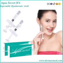 Cross-linked Dermal Injectable Hyaluronic Acid