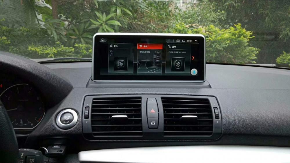 الصين أندرويد 9 0 مشغل الوسائط المتعددة لسيارات BMW 1 Series