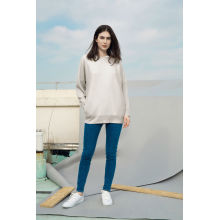 Factory Price for Women'S Cashmere Sweaters The Wool Blend Round Neck Doleman Knitted Sweater export to Angola Factory