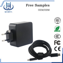 Type-C charger dc power adapter removeable