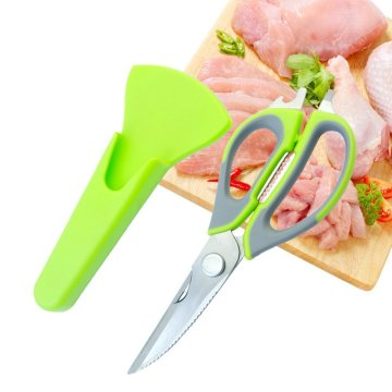 Stainless Steel Kitchen Scissors and Poultry Shears