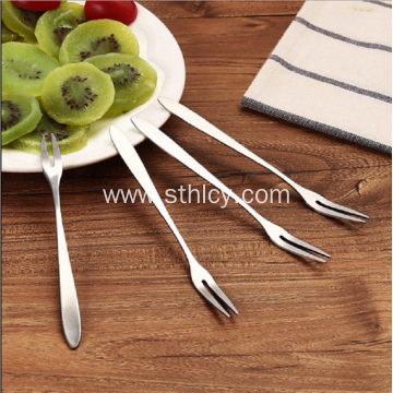 Korean Creative Stainless Steel Fruit Fork