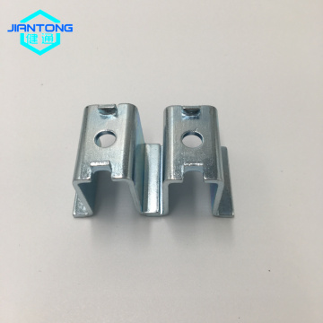 custom carbon steel stamped brackets with zinc plating