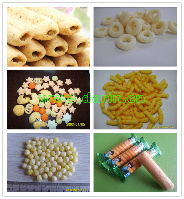 Corn Puff Snack Making Equipment