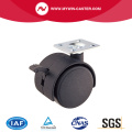 40mm PA Top Plate Furniture Caster With Brake
