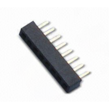 Leading for Pcb Header,1.0Mm Female Pin Header,1.0Mm Female Header Connector Manufacturer in China 1.00mm Female Header Single Row Straight Type export to Mauritius Exporter