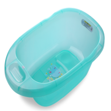 Plastic Medium Size Transparent Baby Soaking Bath tub
