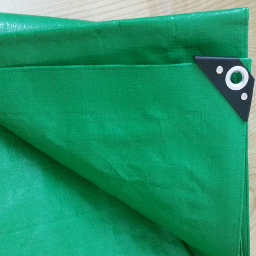 14x14 Green Heavy Duty Tarpaulin