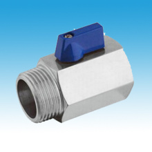 Female/Male Stainless Steel Mini Ball Valve