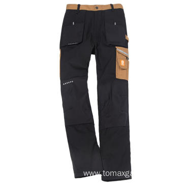 Stretch Classic Black Skinny Slim Fit Casual Pants