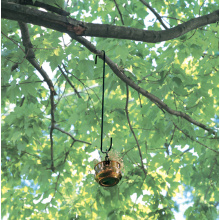 China supplier OEM for Metal Tube Bird Feeders Forged Branch Hook black Deck Hanger Hook export to Bahrain Supplier