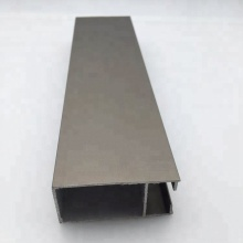 Aluminum sash profile for sliding window door profile