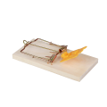 Wooden Rat Trap with Plastic Peddle