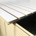 Melamine laminated Slot MDF Board