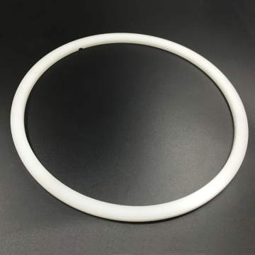 Machining White Delrin Insulating Ring