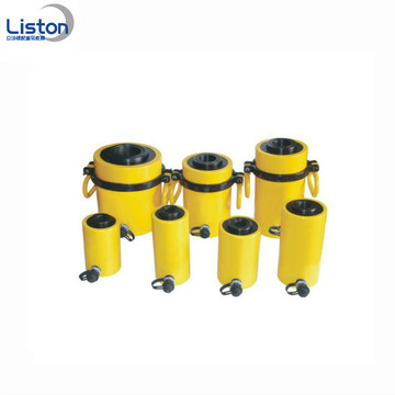 100 ton Single Acting Hole Hydraulic Cylinder