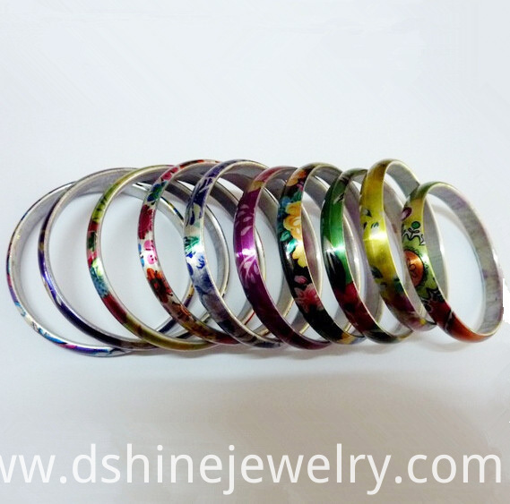 Aluminum Blanks Couples Bangle