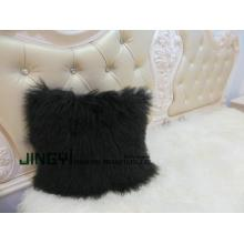OEM for Mongolian Lamb Fur Pillow Sheep Skin Fur Pillow export to Bulgaria Factories