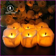 battery tealight led flameless candles tealights