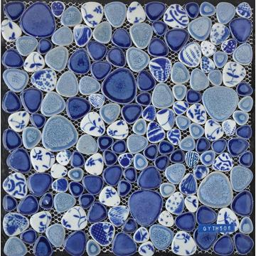 Colorful Glazed Ceramic Mosaic Tile