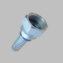 20211 metric female flat seat hydraulic fitting