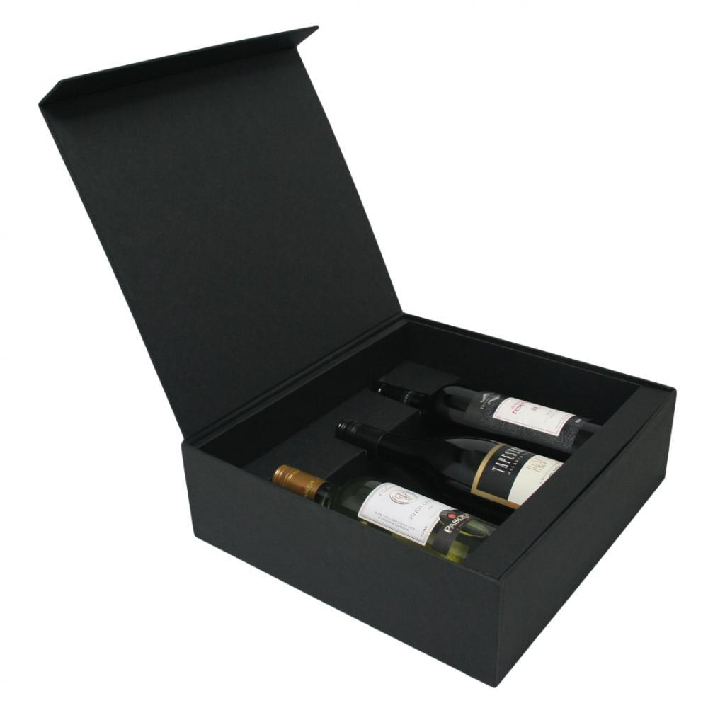 Whisky Wine Paper Box With Flap Lid