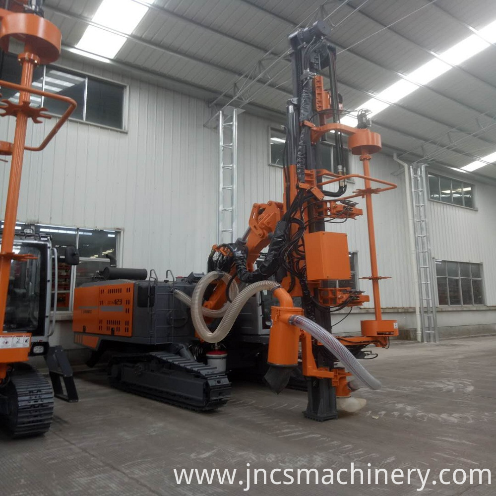 Hydraulic Crawler Rig Machine