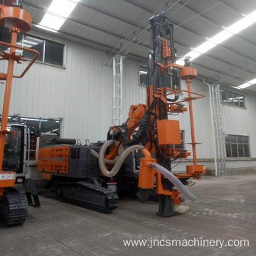 Hydraulic Crawler Rig Water Borehole Drilling Machine
