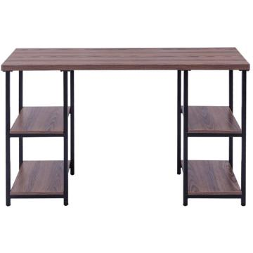 Best Long Wooden Office Table With Metal Frame