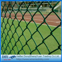 Factory directly sale for Pvc Coated Chain Link Fence 2016 New Galvanized PVC Chain Link Fence export to French Southern Territories Suppliers