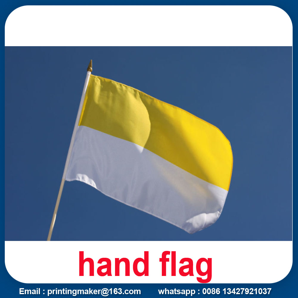 Printing Polyester National Hand Flag