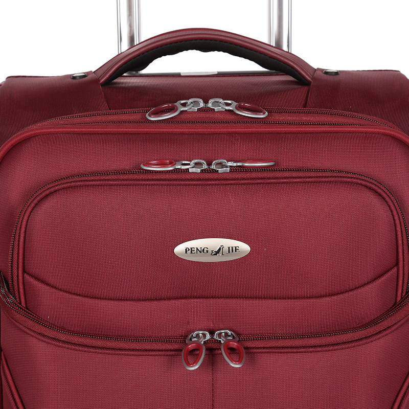 Unique fabric travel luggage