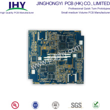 "Personlized Products for PCB Prototype Board PCB Prototype ENIG 1u"" Blue 8 Layer supply to Portugal Suppliers"