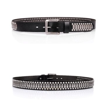 Punk rock fashion decorative rivets belt