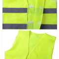 Shinny Orange Yellow High Visibility Safety Vest