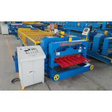 Colored Steel Glazed Tile Roof Roll forming machine