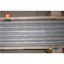 Corrosion Resistant Alloy 625 Inconel Tubing , ASME SB444 GR.2 Seamless Tube