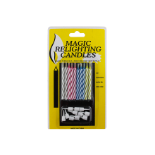 Ordinary Discount Best price for Relighting Magic Candles 10 Pieces Colorful Birthday Magic Relighting Candles supply to Indonesia Suppliers