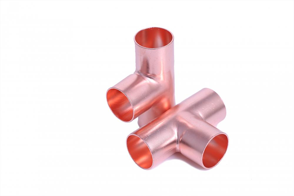 Refrigeration copper fitting Tee