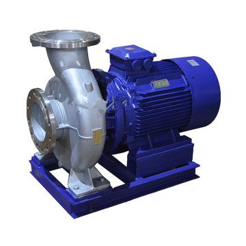 ISWH horizontal single-stage stainless steel pipe centrifugal pump