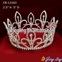 Rhinestone Full Round Beauty Queen Crown