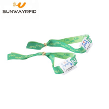 RFID Fabric Wrist Wristbands with chip NTAG® 216