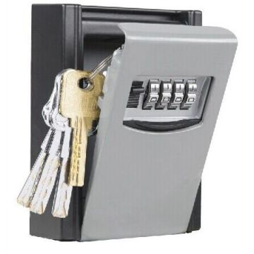 China for Metal Key Storage Box Portable 4-digit Combination Key Box Storage Keys supply to Montserrat Suppliers