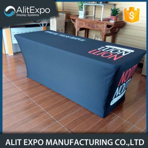 Christmas advertising fancy stretch table cover